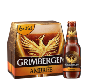 Grimbergen Ambrée 6,5% Vol. 24 x 25 cl Belgien