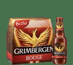 Grimbergen Rouge 6,0% Vol. 24 x 25 cl EW Flasche Belgien
