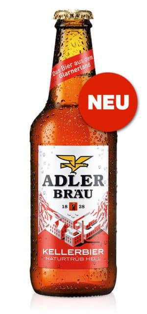 Adler Bräu Kellerbier 4,7% Vol. 2 Pack à 10 x 33 cl