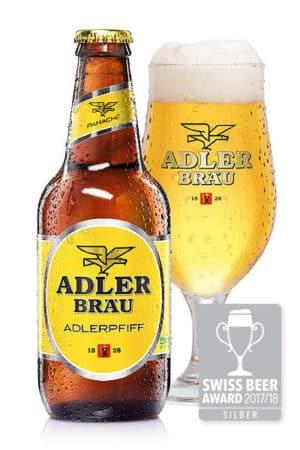Adler Bräu Adlerpfiff Panache 2,9% Vol. 20 x 29 cl EW Flasche