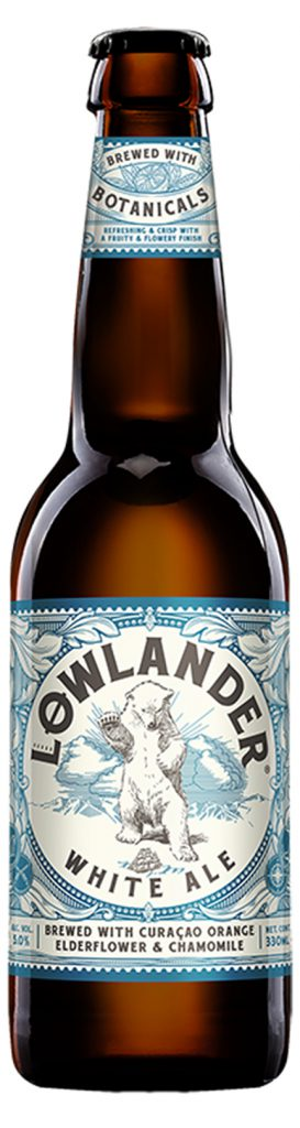 Lowlander White Ale 5,0% Vol. 24 x 33 cl Holland