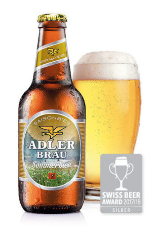 Adler Bräu Sommerbier 5,2%% Vol. 24 x 29 cl