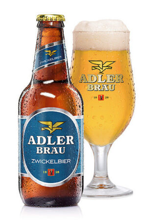 Adler Bräu Zwickelbier 5,2% Vol. 24 x 33 cl EW Flasche