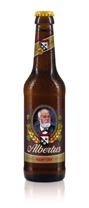 Egger Bier Albertus Spezial dunkel 5,2% Vol. 24 x 33 cl MW