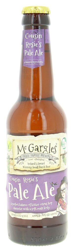 Mc Gargles Cousin Rosie's Pale Ale 4,5% Vol. 24 x 33 cl Ireland