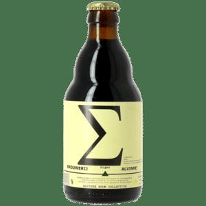 Alvinne Sigma 10% Vol. 24 x 33 cl EW Flasche Belgien
