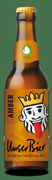 Unser Bier Amber 5% Vol. 24 x 33 cl