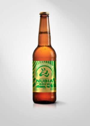 Nubia Brew Georgis Premium 4,5% Vol. 20 x 33 cl EW Flasche