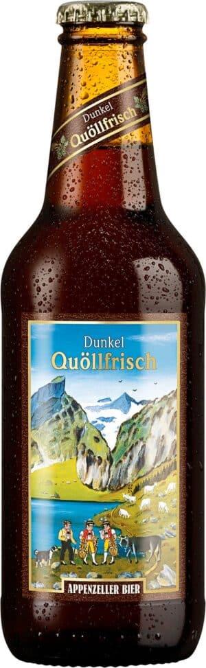 Appenzeller Dunkel 5,2% Vol. 24 x 33 cl