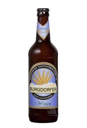 Burgdorfer Weizen 5,4% Vol. 10 x 50 cl MW Flasche