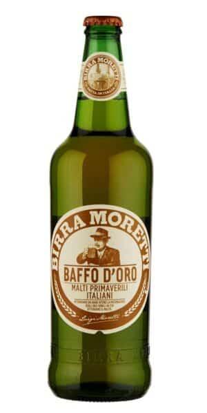 Birra Moretti Baffo D'Oro 4.8% Vol. 24 x 33 Italien