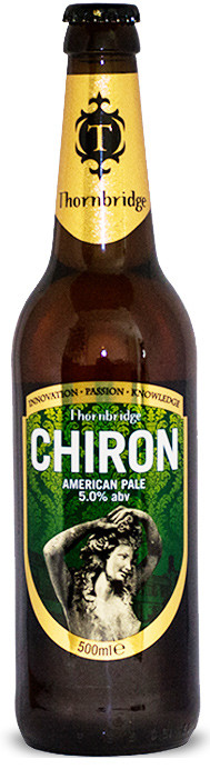 Thornbridge Brewery Chiron American Pale Ale 5,0% Vol. 12 X 33 cl EW Flasche