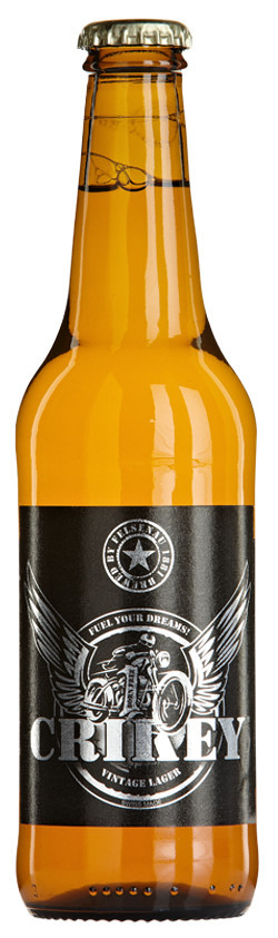 Crikey Bier 5% Vol. 24 x 33 cl EW Flasche
