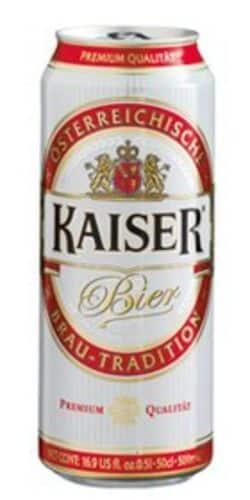 Kaiser Premium Bier 5,0% Vol. 24 x 50 cl Dose Österreich