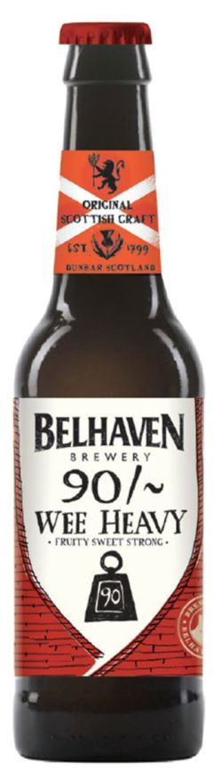 Belhaven 90 Wee Heavy Ale 7,4% Vol 24 x 33 cl Scotland