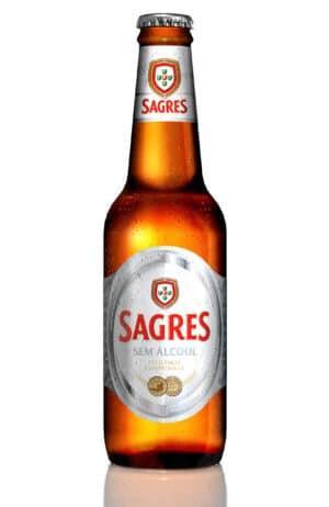 Sagres Branca sem alcool 0,5% Vol. 24 x 33 cl Portugal