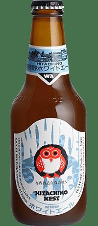 Hitachino Nest White Ale 5,5% Vol. 24 x 33 cl EW Flasche Japan