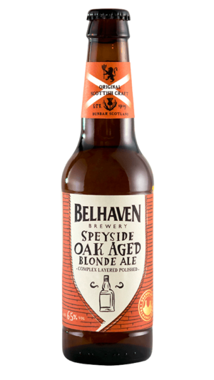 Belhaven Craft Speyside Blonde Oak Aged 6,5% Vol. 24 x 33 cl Scotland