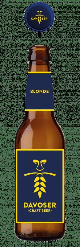 Davoser Craft Beer Blonde 4,6% Vol. 24 x 33 cl EW Flasche