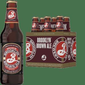 BROOKLYN Brown Ale Bier 5,6% Vol. 24 x 35,5 cl Amerika