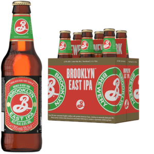 BROOKLYN East Indian Pale Ale 5% Vol. 24 x 35,5 cl Amerika