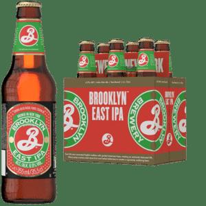 BROOKLYN East Indian Pale Ale 5% Vol. 24 x 35,5 cl Amerika