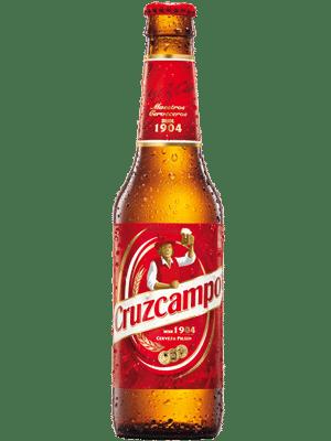 Cruzcampo 4.8 % Vol. 24 x 33 cl Spanien