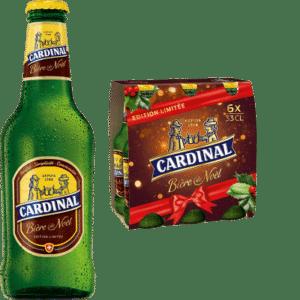 Cardinal Weihnachtsbier 5,4% Vol. 24 x 33 cl