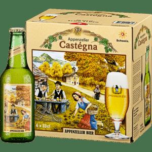 Appenzeller Kastanienbier / Castégna 5% Vol. 24 x 33 cl