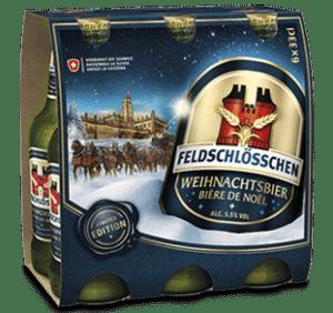 Feldschlösschen Weihnachtsbier 5,5% Vol. 6 x 33 cl EW Flasche