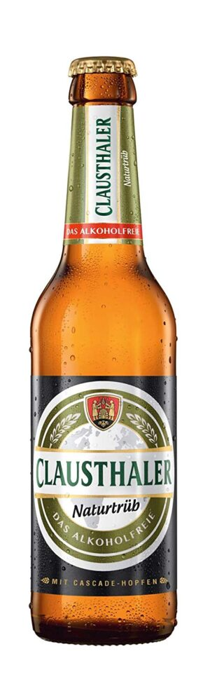 Clausthaler naturtrüb alkoholfreies Bier 24 x 33 cl Deutschland