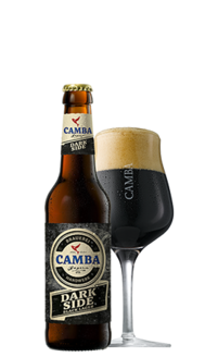 Camba Bavaria Dark Side Black Lager 5,6% Vol. 24 x 33 cl EW Flasche