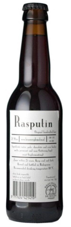 De Molen Rasputin Starkbier 10,4% Vol. 24 x 33 cl EW Flasche