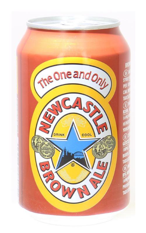Newcastle Brown Ale 4,7% Vol. 24 x 33 cl Dose England