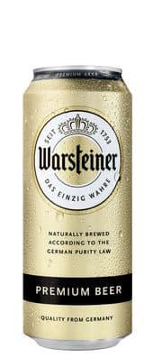 Warsteiner Premium Bier 4,8% Vol. 24 x 50 cl Deutschland