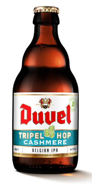 Duvel Tripel Hop Cashmere 9,5% Vol. 24 x 33cl EW Flasche Belgien