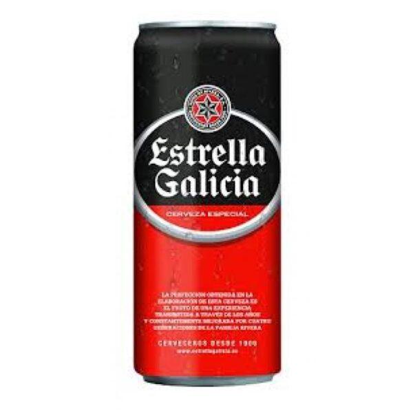 Estrella Galicia 5,5% Vol. 24 x 50 cl Dose Spanien