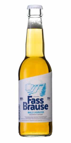 Lägere Bräu Fassbrause alkoholfrei 10 x 33 cl