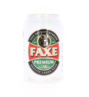 Faxe 5,0% Vol. 24 x 33 cl Dose Dänemark