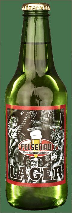 Felsenau Lager Bier 4,8% Vol. 20 x 33 cl EW Flasche
