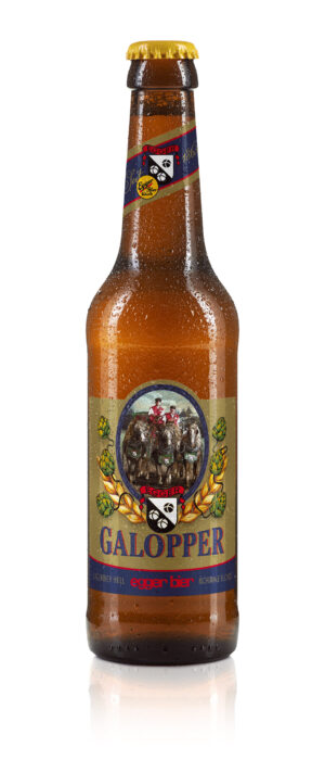 Egger Bier Galopper Lager hell 4,8% Vol. 24 x 33 cl MW