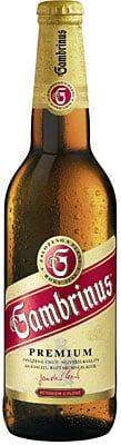 Gambrinus Premium 5% Vol. 20 x 50 cl MW Flasche Tschechische Republik