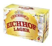 Eichhof Lager 4,8% Vol ( 4 Karton à 10 x 33 cl )