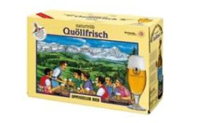 Appenzeller Quöllfrisch naturtrüeb ( 4 Karton à 10 x 33 cl )