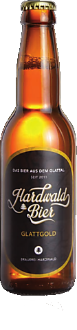Hardwald Bier Glattgold 5,2% Vol. 24 x 33 cl EW Flasche