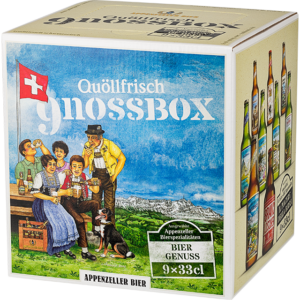 Appenzeller GnossBox 9 x 33 cl