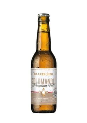 Baarer Goldmandli Premium Hell 5,2% Vol 24 x 33 cl