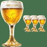 Grimbergen 6 Pokal Gläser mit je 25 cl