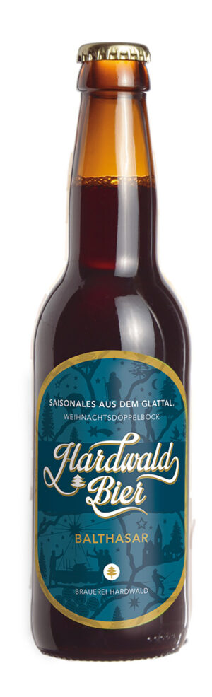 Hardwald Bier Balthasar 8,0% Vol. 24 x 33 cl EW Flasche