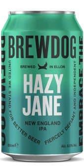 BrewDog Hazy Jane IPA 5,0% Vol. 24 x 33 cl Schottland